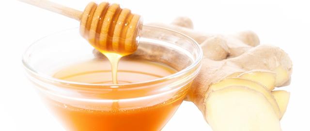 ginger and honey gargle - purggo